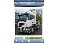 Wind kit for R series Scania
