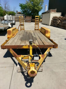 Trailer with brakes