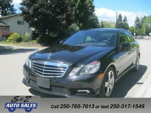 2011 Mercedes Benz E-350 4matic Anniversary Edition 20000 Km!