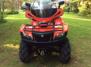 2012 Suzuki KingQuad 500ax Electronic Fuel Injection