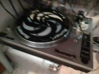 Record vinyl. Turntable. Numark TT 1520