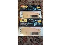 Star Wars Authentic 70mm Limited Edition Collector filmcells - 20 of these in total