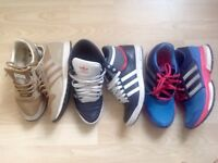 Adidas trainers size 3,5