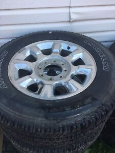 """Stock F350 rims and tires 20"""""""