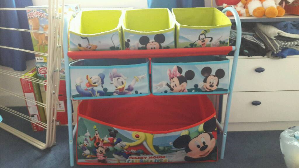 Mickey Mouse Canvas Storage Unit