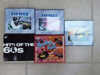 1950's and 60's cd collection