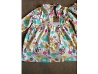 Girls Lilly and Sid dress with matching pants, 18-24 months, BNWT