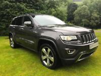 STUNNING TOP SPEC JEEP GRAND CHEROKEE OVERLAND NEW MODEL 2014 3.0CRD REAR DVD