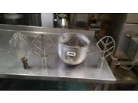 Bakery equipment. Hobart bowl attachments.