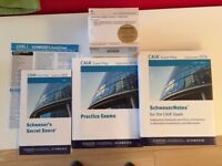 CAIA Level 1 Schweser books + Practice Exam + Schweser Cards