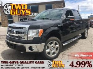 2014 Ford F-150 XTR CREW 5.0L CHROME 6PASS TOW PKG