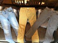 Bundle of Men's River Island 32 waist 34 long jeans