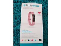 FITBIT ALTA HR ROSE GOLD SERIES!New and unused!