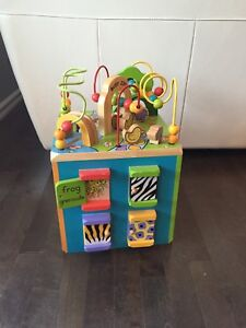 Discovery wooden toy
