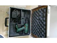 Bosch 18v power drill with charger and case