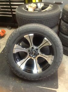 """Dick cepek 20"""" Ford F150 rims and Pirelli tires"""