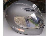 AGV K3 helmet matt black barely used £200+ new, medium 57-58
