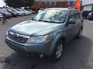 2010 Subaru Forester 2.5 X Touring Package/ pneus d'hiver inclus