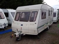 Bailey Ranger 510 4 Berth Caravan with Awning and Motor Mover
