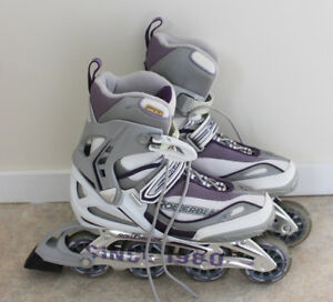 Ladies size 9 Rollerblades