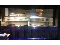 x2 restaurant display friges