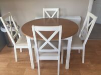 Kitchen dining table and chairs
