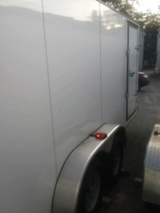 2Enclosed trailers