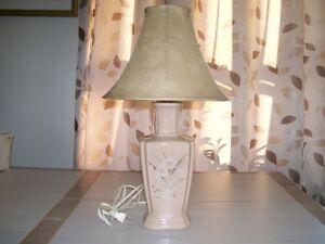 4 Lampes de chevet
