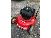 BRIGGS AND STRATON TWIN BLADED LAWNMOWER