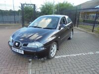 FOR SALE. 2003 SEAT IBIZA 1.4. SPARES OR REPAIR