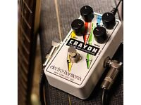 GREAT CONDITION ELECTRO-HARMONIX CRAYON OVERDRIVE (BOXED)