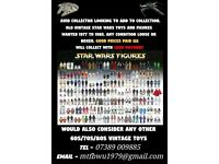 WANT 2 BUY STAR WARS FIGURES AND SHIPS TOP CASH PAID
