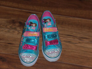 SKETCHERS TWINKLE TOES POUR FILLE POINTURE 2