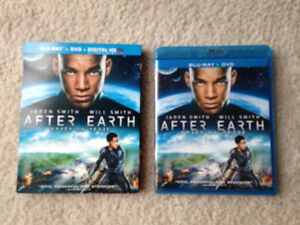 Like New! After Earth Bluray