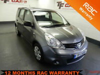 2012 Nissan Note 1.5dci Visia - 52'000 miles / FINANCE AVAILABLE!