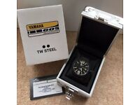 TW Steel Yamaha 60th Anniversary Watch 45mm Boxed