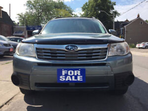 2009 Subaru Forester X w/Premium Pkg SUV,  **NO ACCIDENT**
