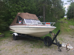 Glastron Boat and Trailer for Sale