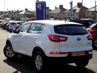 KIA SPORTAGE 1.7 CRDi 1 5dr 114 BHP * Great Value Diesel MPV * (white) 2013