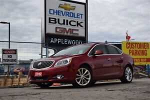 2012 Buick Verano NAVIGATION, LOW MILAGE, BLUETOOTH, SUNROOF, RE