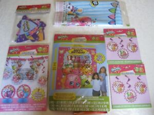 Shopkins birthday supplies / decorations