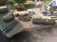 Carp set up setup greys gt3 Delkim Txi Plus Daiwa mission Shimano 10000 Trakker Nash fox Korda
