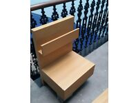 Ikea Malm bedside table with a drawer