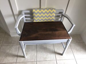Refinished Antique Bench