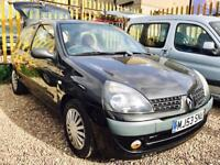 ★✨WEEKEND OFFERS✨★ 2003 RENAULT CLIO 1.2 EXTREME PETROL ★MOT SEP 2017★ SERVICE HISTORY ★KWIKI AUTOS★