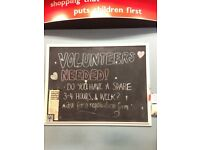 Charity Shop Volunteer (Unpaid)