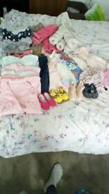 Baby clothes, toys