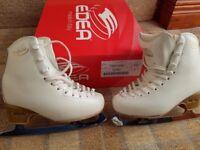 Edea Preludio Ice Skates - ivory size 210 (uk 13)
