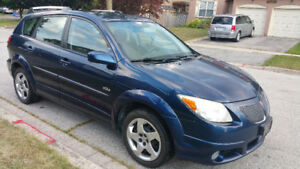 2005 Pontiac Vibe Hatchback  Auto  - Certified And E-tested