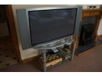 "42"" plasma TV with stand"